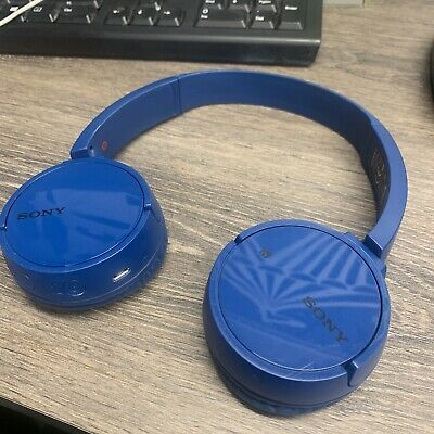 Sony WH-CH500 Wireless Headphones Blue • 12£