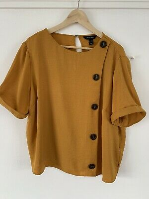 New Look Size 18 Top Mustard • 0.99£