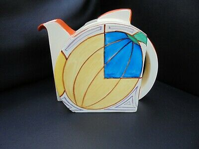A Clarice Cliff MELONS Stamford Tea Pot • 1,050£