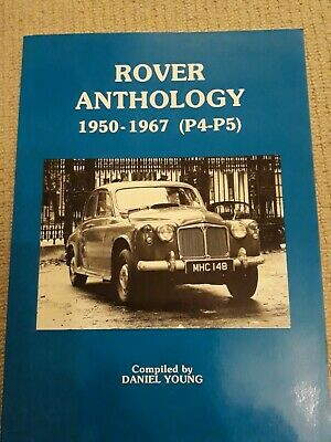 Rover P4 And P5 Anthology 1950 To 1967 • 11£