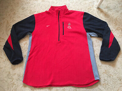 England Rugby Player Issue Training Fleece Size XL • 20£