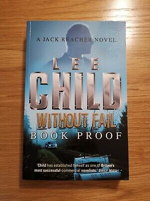 Without Fail: (Jack Reacher) By Lee Child (Paperback, April 2002) Book Proof  • 1£