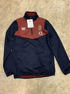 England Rugby Union Canterbury Thermoreg 1/4 Zip Top Jacket Xs Mens Brand New • 29.99£