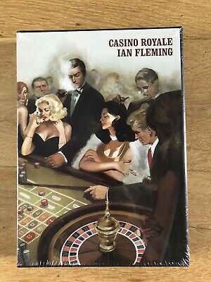 Ian Fleming Casino Royale James Bond 007 Folio Society Slipcased Sealed • 49.99£