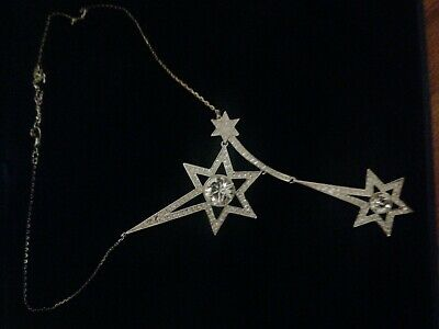 Original Packaging--Swarovski Necklace Shooting Star Collection. Worn Once.  • 7.50£