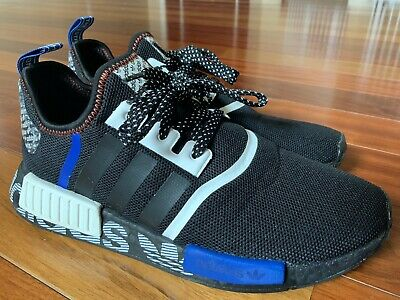 $ CDN54.18 • Buy Mens Adidas NMD DSTN FV5215 Black White Shoes Size 9.5