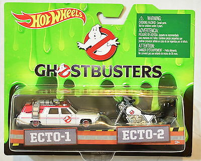 Hot Wheels Ghostbusters Ecto-1 & Ecto-2 Car Pack • 9.04£