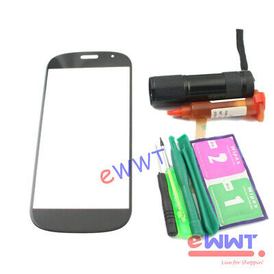 AU15.19 • Buy Replacement FRONT Screen Glass Lens+UV Glue For Yota Yotaphone2 YD201 5  TJGS662