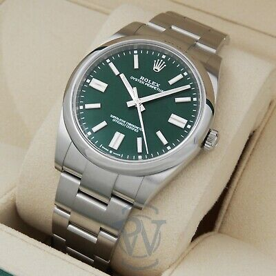 $ CDN13517.83 • Buy ☘️ Rolex Oyster Perpetual 41 GREEN Dial 124300 Complete OysterSteel New 3230 ☘️