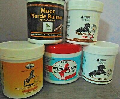 Pferdebalsam Massage Gels And Ointment - Cooling, Warming, With Herbs And Peloid • 8.50£