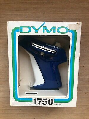 DYMO Vintage Label Maker In Box Embossed • 15£