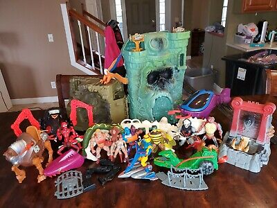 $152.50 • Buy He Man Masters Of The Universe Grayskull, Action Figures, Vehicles Lot