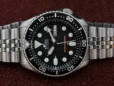 $ CDN12.45 • Buy Pre-owned Seiko Scuba Diver 7s26-0020 Skx007k2 Automatic Men's Watch 841816