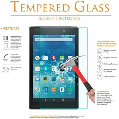 £4.39 • Buy 2PC Tempered Glass Screen Protector For ALL Amazon Kindle Fire 7 8 10 2015-20
