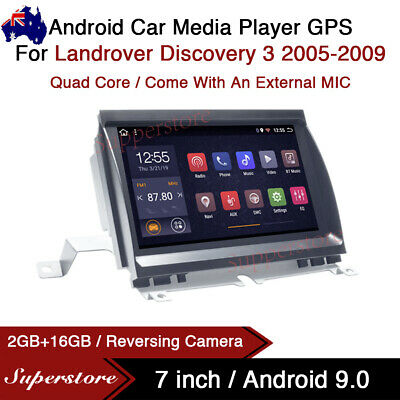"AU489 • Buy 7"" Android 9.0 Car Stereo Media Player GPS Head Unit For Landrover Discovery 3"