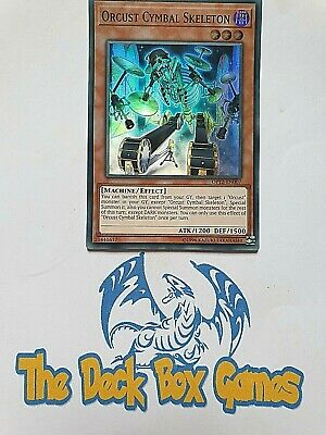 Yugioh: Orcust Cymbal Skeleton, Op12, Super Rare • 1.85£
