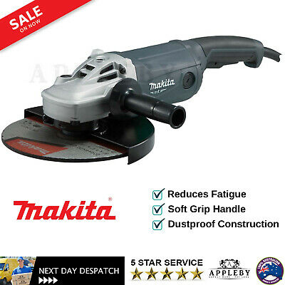 AU187.23 • Buy Makita 9  Angle Grinder 230mm 9 Inch Powerful 2000W Cord M9001G Trigger Switch