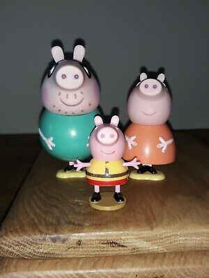 Pepper Pig Mum,Dad And George Figures  • 2.50£