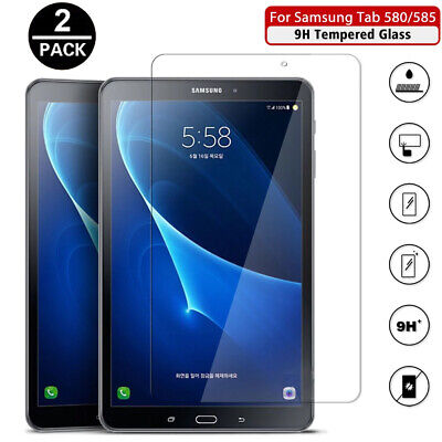 £4.29 • Buy 2PC Tempered Glass Screen Protector For Samsung Galaxy Tab A T580/T585 10.1 2016