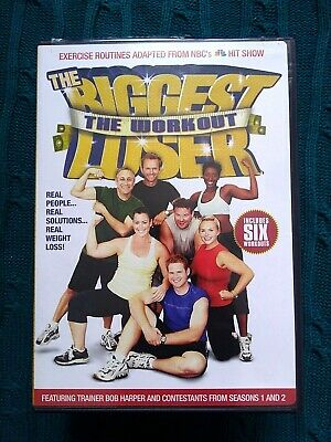 The Biggest Loser The Workout – Dvd - R-1, Like New, Free Post Within Australia • 11.54£
