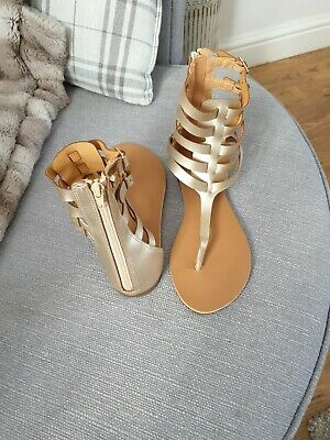 Primark Gladiator Sandals Size 7 Brand New Without Tag  • 2.50£