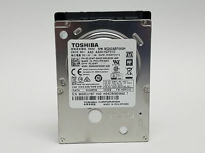 $ CDN101.04 • Buy Lot Of 5 Toshiba   MQ02ABF050H 500GB 2.5  SATA III Laptop Hard Drive