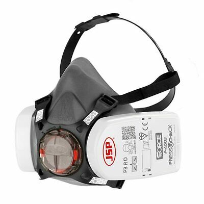 £19.95 • Buy JSP Force 8 Mask Including P3 Press To Check Filters Size Medium BHT0A3-0L5-N00