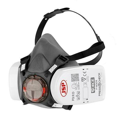 JSP Force 8 P3 Press To Check Mask Inc P3 Filters, JSP BHT0A3-0L5-N00 • 24.95£