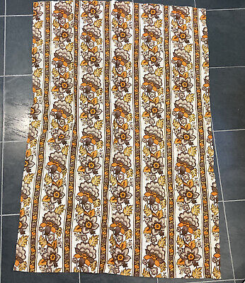 Vintage Retro Fabric Old Curtains. 60s 70s 80s Job Lot.  • 20£