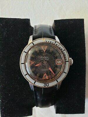 $ CDN214.74 • Buy Vintage Zodiac Seawolf Automatic Divers Watch 17J Bakelite Bezel 20ATM RUNS