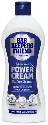 £3.79 • Buy Bar Keepers Friend Power Cream For Cookware Kitchen & Bathroom Easy To Use 350ml
