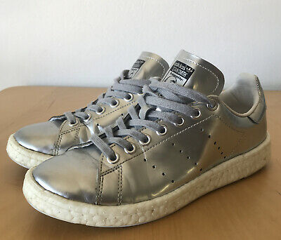 AU47.50 • Buy Adidas Stan Smith Metalic Silver Sneakers UK5.5 US7 EUR38.5