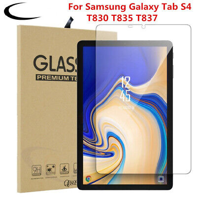 £3.49 • Buy Tempered Glass Screen Cover Protector For Samsung Galaxy Tab S4 T830 T835 10.5