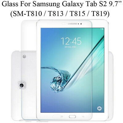 £3.49 • Buy Genuine Tempered Glass Screen Protector For Samsung Galaxy Tab S2 9.7 T810 T815