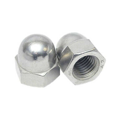 $5.37 • Buy Dome Nuts To Fit Metric Bolts M3 M4 M5 M6 M8 M10 M12 M16 M20 A2 Stainless Steel