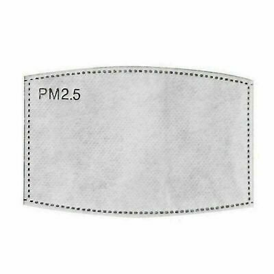 £1.99 • Buy PM2.5 FILTER For Washable Reusable Cotton Face Mask Activated Carbon 50x