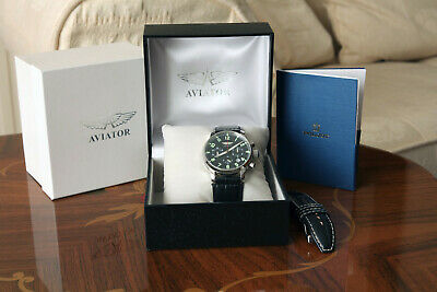 Poljot Aviator Chronograph Mechanical Watch 31681 / 6971607 • 550£