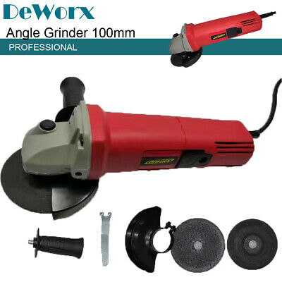 Heavy Duty 850w 4.5  115mm Electric Angle Grinder Discs Sander Cutter Polisher • 18.30£
