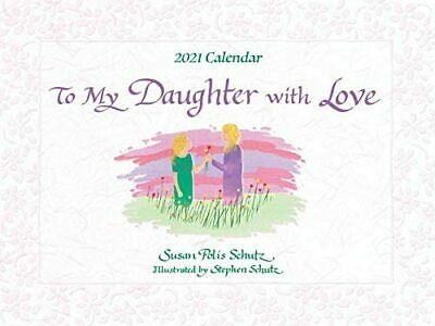 £29.99 • Buy Blue Mountain To My Daughter With Love Blue Mountain Arts 2021 Large Calendar