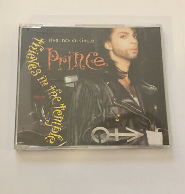 Prince- Thieves In The Temple-3 Track Cd Single-1990 • 0.99£
