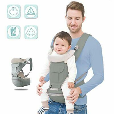 Soontrans Baby Carrier Multiple Positions With Hip Seat For 3-36 Months Baby • 38£