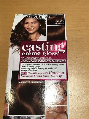 Loreal Casting Creme Gloss Semi Permanent Hair Dye Colour Chocolate 535 • 5.50£