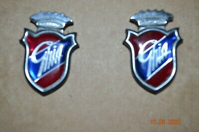 2 Ghia Badges From Ford Cortina 1982 • 4£