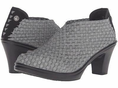 Women's Shoes Bernie Mev CHESCA Woven Slip On Stretch Pumps PEWTER • 42.71£
