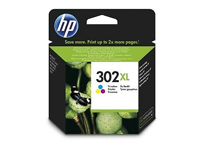 HP 302 XL Tri Colour Printer Cartridge - New • 11.60£