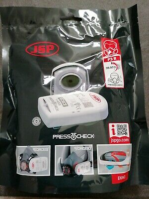 JSP F-4003 Force 8 Force 10 Press To Check P3R Respirator Mask Filters DC1941 • 4.60£
