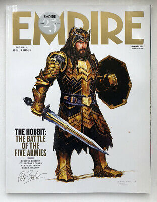 Empire Magazine Issue 307 - January 2015- The Hobbit: The Battle Of The 5 Armies • 4£