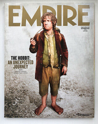 Empire Magazine Issue 282 - December 2012 - The Hobbit Limited Edition Cover • 4£