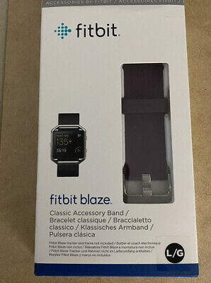 $ CDN6.84 • Buy Fitbit Blaze Replacement Large Band Classic Accessory OEM Plum Color