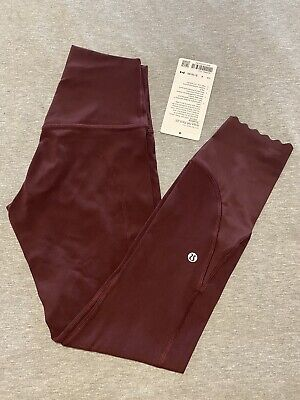 """$ CDN120 • Buy Lululemon Align 25"""" *scallop Size 4, New With Tags"""
